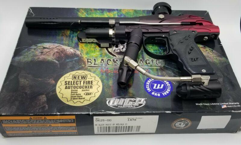 WGP Autococker - 06 Black Magic - Paintball - E-Blade / Select Fire - Midblock