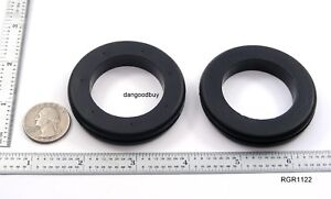 2 Very Large Rubber Grommets  1 1/2