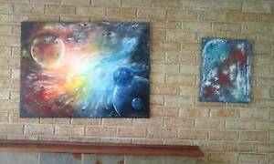 oil and acrylic paintings Busselton Busselton Area Preview