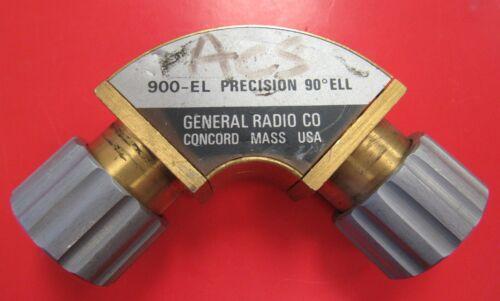 General Radio 900-EL Precision 90 Degree ELL GR900 Connector
