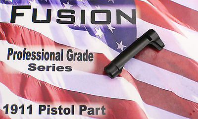 2011 Double Stack STI Style Bar Stock Magazine Catch Black Serrated Extended ()