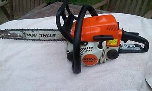 Stihl ms 180c chainsaw Golden Beach Caloundra Area Preview