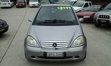 1999 Mercedes-Benz A160 4 Cyl semi Auto Fully optioned Luxury Granville Parramatta Area Preview