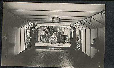 Oriental Magic Tricks Magician Illusionist Full Stage Set   Props Post Card