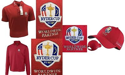Cutter & Buck Edge Ryder Cup Crested Clothing Bundle S OR M & Cap RRP£100+ Nike