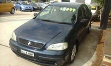 2002 Holden Astra TS CD 4 Cyl 5 speed Hatch LOW KM'S 3 months reg Granville Parramatta Area Preview