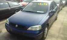 2004 Holden Astra City Hatch 4 cyl 5 speed Nice car 3 months rego Granville Parramatta Area Preview