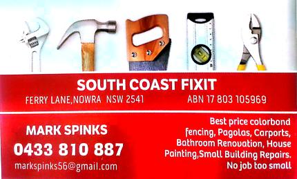 South Coast Fixit-Handyman