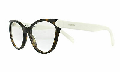 Authentic Prada PR02TV  2AU1O1 54MM Eyeglasses Havana Optical Frame