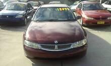 2001 Holden Berlina VX Sedan Luxury Commodore 3 months rego Granville Parramatta Area Preview