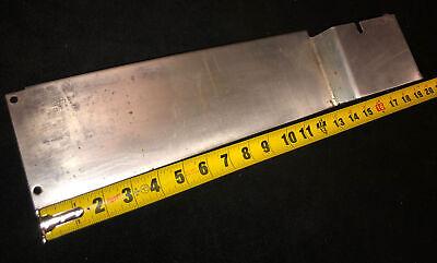 Genuine Hobart 1712 Meat Slicer Sharpener Mount Cover Side Panel. Item Idap2