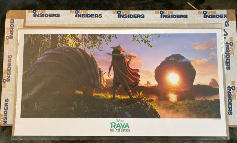 Raya and the Last Dragon Lithograph•Exclusive Disney Movies Insider Rewards Item