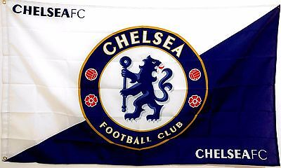 Chelsea FC Flag banner 3ft x 5ft Football Soccer blues stamford bridge Chelsea Stamford Bridge