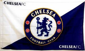 Chelsea FC Flag banner 3ft x 5ft Football Soccer blues stamford bridge