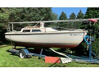 1989 Catalina 22' Sailboat & Trailer - Wisconsin