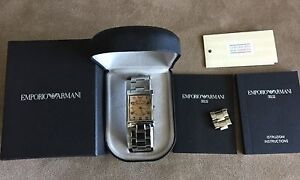 Emporio Armani watch stainless steel Surry Hills Inner Sydney Preview