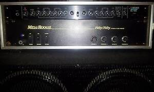 BOSS GL100 PREAMP MESA 50/50 POWER AMP COMBINATION IN RACK CASE Newcastle Newcastle Area Preview