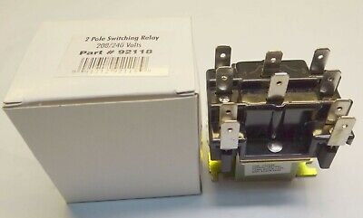 Ez-flo 92118 Double Pole Switching Relay 208240 Volt Ld90342 2-pole