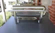HEATED FOOD CHAFFING DISHES STAINLESS STEEL Alberton Port Adelaide Area Preview