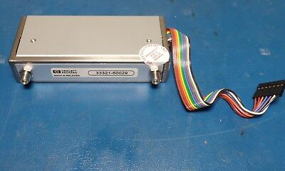 Hp Agilent 33321-60029 Attenuator 3-section 6 Ghz 75db With Cable Tested