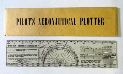 1942 PILOT'S AERONAUTICAL PLOTTER