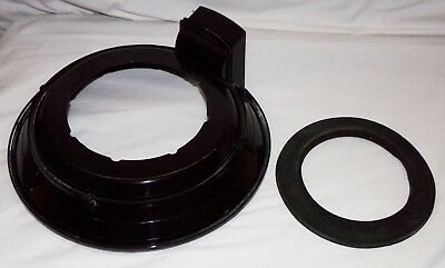 Rainbow SE Vacuum Cleaner Replacement Part Baffle Plate Assembly w/ Gasket