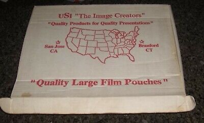 Usi The Image Creator Large Film Pouches 3 Mil Laminating 75 Ct 12 X 15 11.5x18