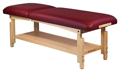 Brand New - Tilt Top Exam Treatment Spa Table Adjustable Height Wood Frame