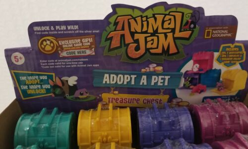 Animal Jam Adopt A Pet Treasure Chests Mystery Case of 24 For Sale - 3