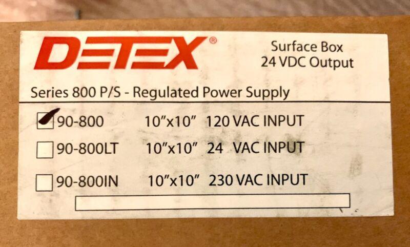 Detex 90-800 Regulated Power Supply