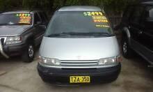 1993 Toyota Tarago 8 Seater 4 Cyl AUTO TCR10 Wagon / VAN Granville Parramatta Area Preview