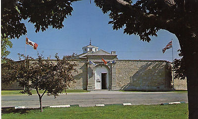 Postcard Canada  Ontario  Huron Historical Jail Mail entrance Goderich unposted