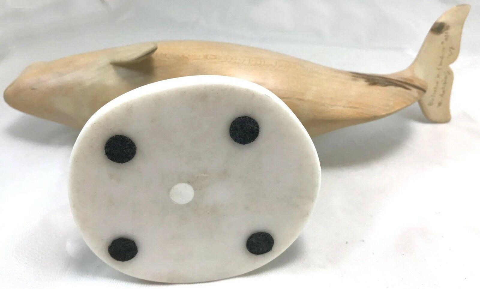 Купить Wayne Robbins Carved Wooden Beluga Whale Sculpture, Beluga in Linden #3318