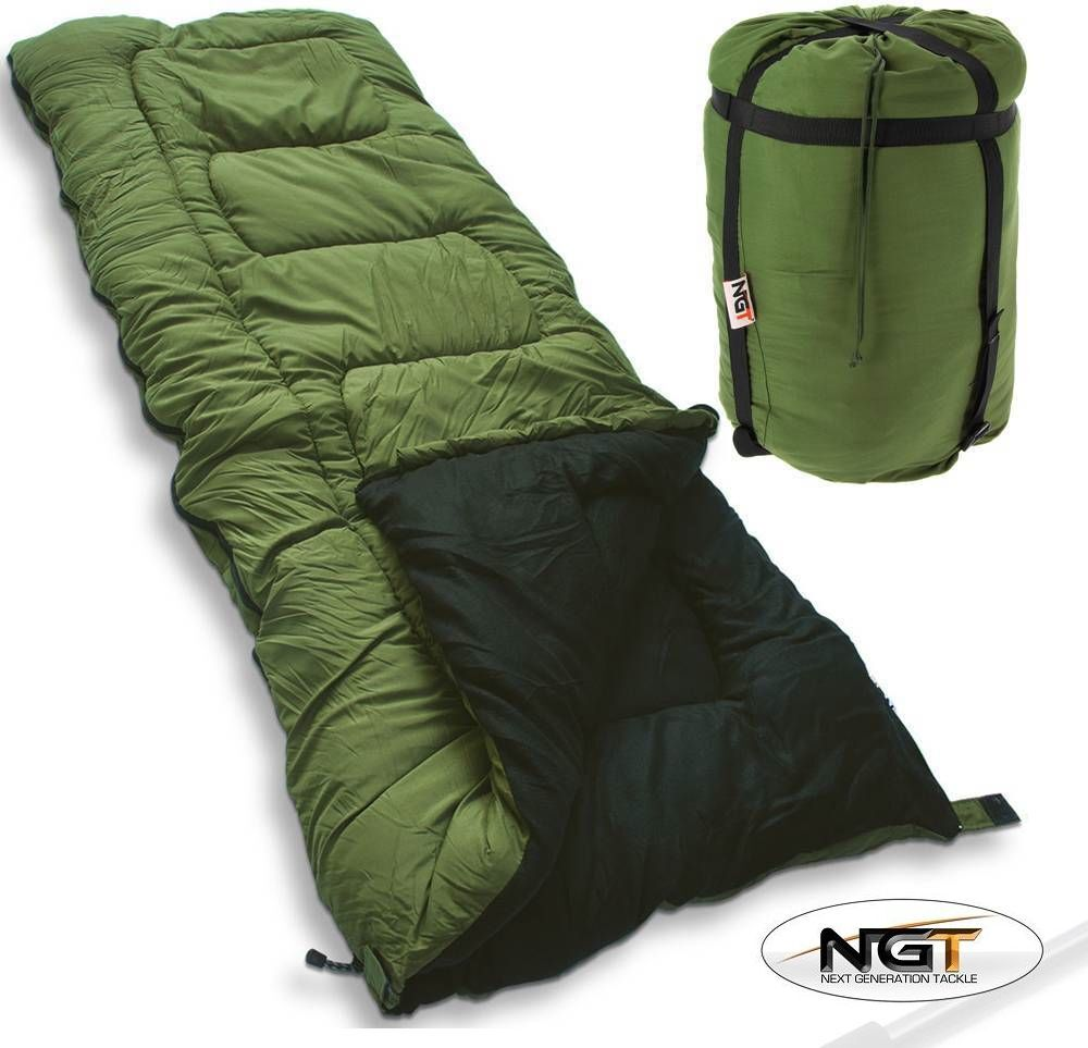 Details About Ngt 5 Season Sleeping Bag For Carp Fishing Beds Camping Warm High Tog Rating