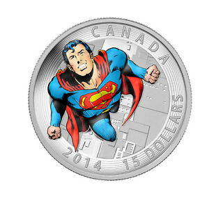 Fine Silver Coin - Iconic Superman Mintage: 10,000 (2014)