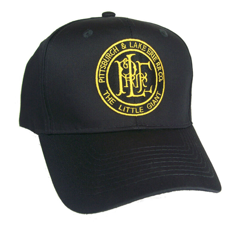 Pittsburgh & Lake Erie Railroad Company Embroidered Cap Hat #40-0067
