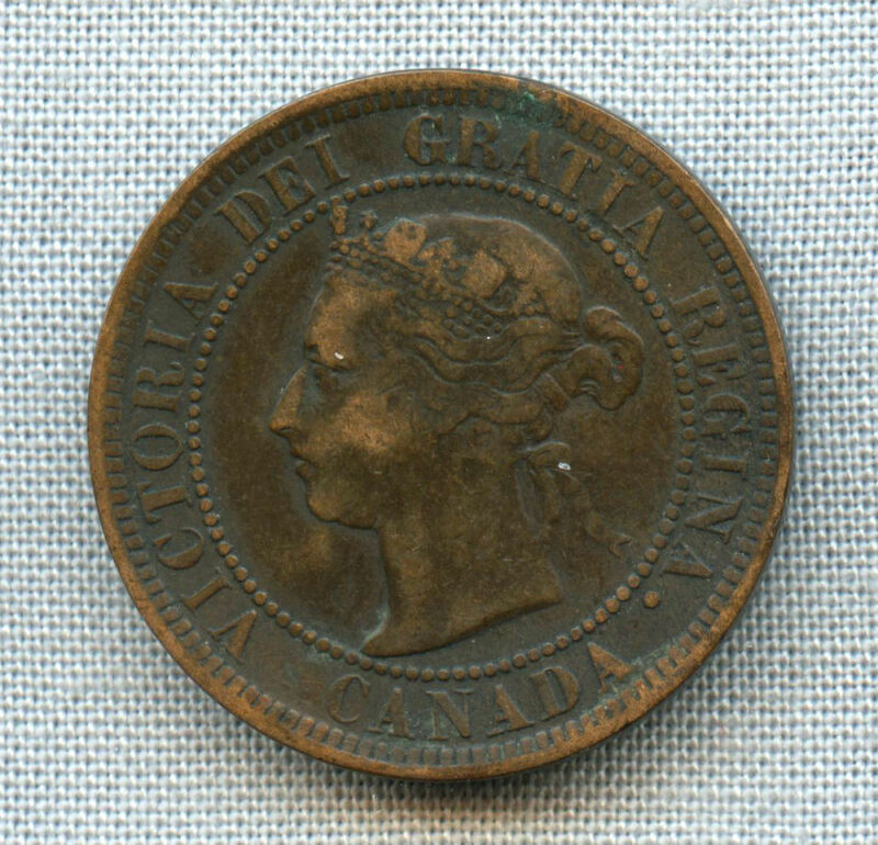 1891 Canada Copper Large Cent