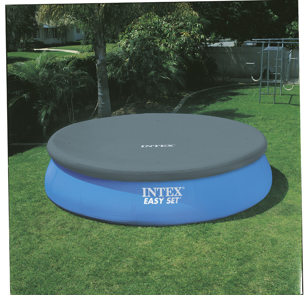 Intex easy set and metal framed pool covers ebay Intex swim center family pool cover