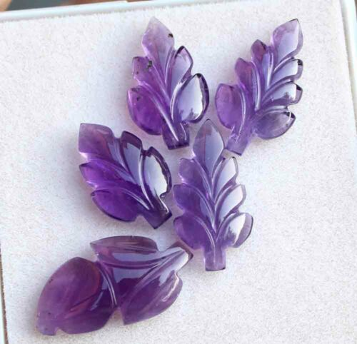 23.10 Cts Natural African Purple Amethyst Hand Carving Loose Gemstone