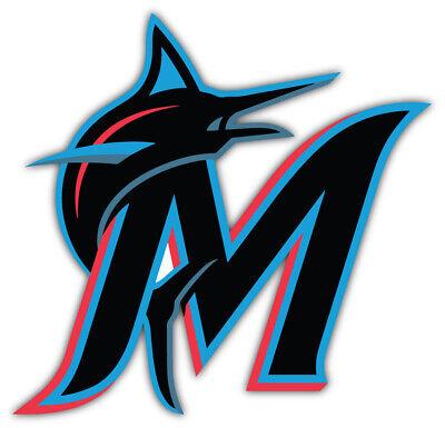 Miami Marlins MLB Baseball Car Bumper Sticker Decal