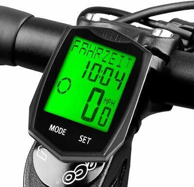 Velocímetro Inalámbrico para Bicicleta | Odómetro, Cuentakilómetros Impermeable