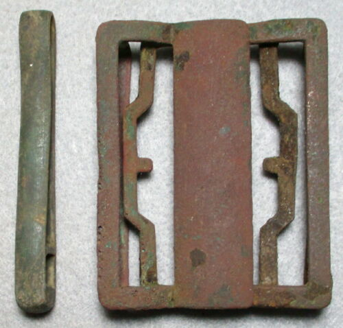 Civil War Relic U.S.M1855 Rifleman's Buckle Found at Cold Harbor