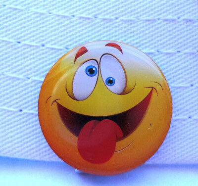 Crazy Emoji Golf Ball Marker - W/Bonus Magnetic Hat Clip - Crazy Golf Hats