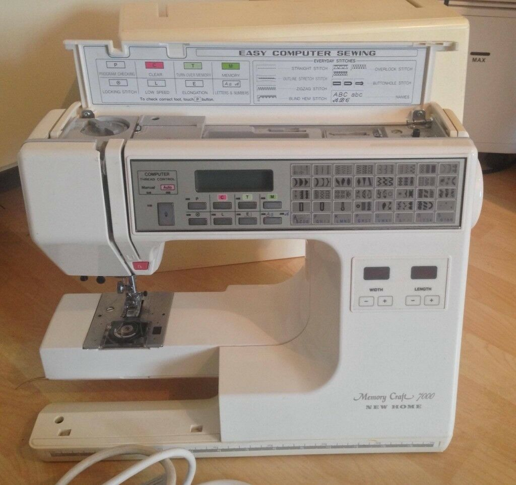 sewing machine janome memory craft 7000 in southampton hampshire rh gumtree  com Janome Sewing Machine Manual Stitch 18 Janome Sewing Machine Built ...