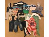 Baby boy clothes 9-12 mobths