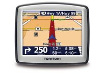 Tomtom one with uk&European built in maps very good working condition