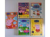 Peppa Pig DVD bundle
