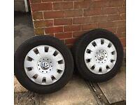 VW T5 spare wheels