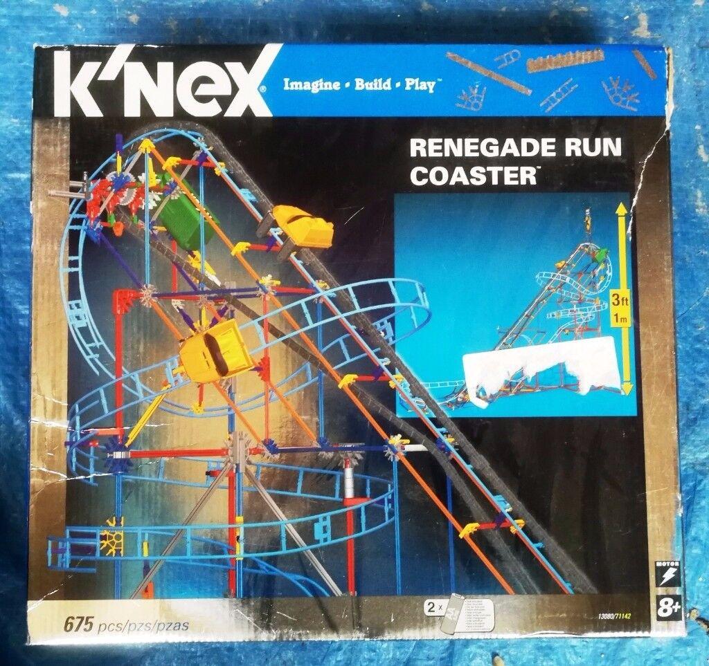 K'NEX Rollercoaster