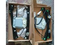 VW GOLF 5 MK5 V 03-09 2/3 DOORS PAIR WINDOW REGULATORS ELECTRIC FRONT RIGHT/LEFT 1K3837462 1K3837461